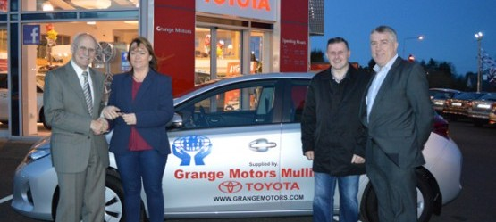 Congratulations to Siobhan Flatherty winner of the Mullingar Credit Union  Car Draw