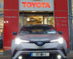 Toyota achieved best selling car brand in Westmeath